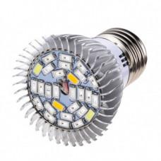 Фітолампа E27, 28 LED 8Вт для рослин, спектр повний