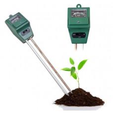 Аналізатор грунту землі 3в1 тестер  вимірювач pH, вологості, освітленості ETP-301