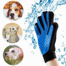 Грумінг True Touch рукавичка для вичісування шерсті з тварин рукавичка для кішок собак