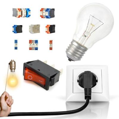 Електрика, освітлення, блоки живлення