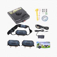 Електронний паркан для собак і розплідників, електронні нашийники, 2 шт, W-227