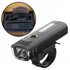 Велофара EOS220, ліхтар велосипедний індукційний 250лм фара 5Вт 1500мач IPx4