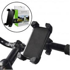 Універсальний тримач, кріплення для телефону на кермо велосипеда, самоката, чорний