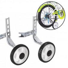 """Колеса бічні для велосипеда, страхувальні колеса Lumari HR20, (12""""-20"""") білі"""