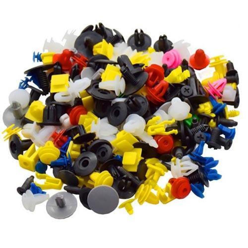 Кріплення, пістони, кліпси у машину, набір автомобільних кріплень, пістонів, кліпс, 500шт.