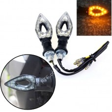 Поворотники для мотоцикла, LED покажчики повороту в мотоциклі, пара