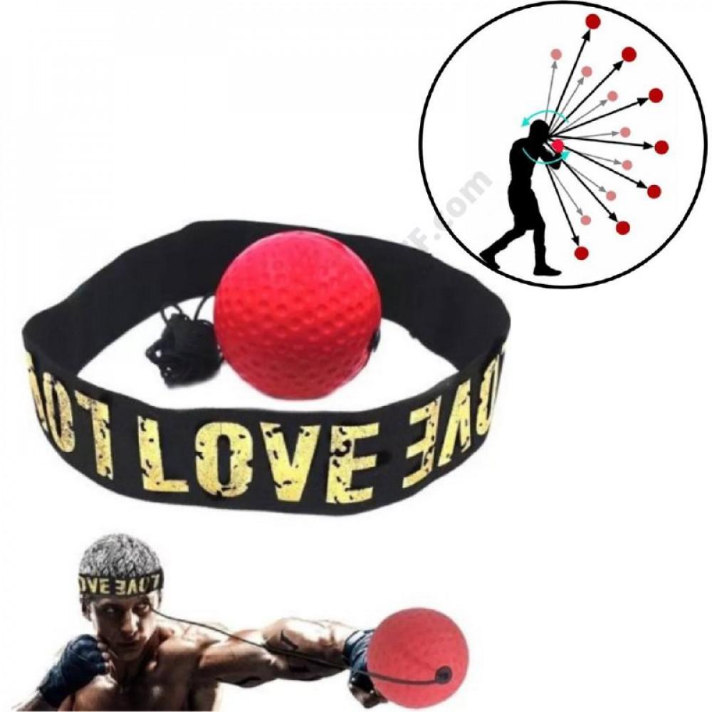Міні тренажер для боксерів Fight Ball Файт Болл, м'ячик на гумці