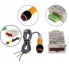Промисловий лічильник, цифрова система підрахунку, 220В з фотодатчиком