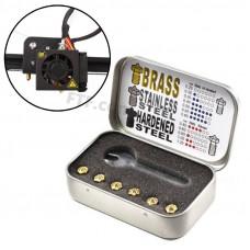 Сопла для принтера, набір сопел V6 0.25-0.80 мм під 1.75 нитка для 3D-принтера, Trianglelab