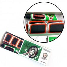 Велоремкомплект RS4803, велоаптечка, латки в коробках, прямокутні