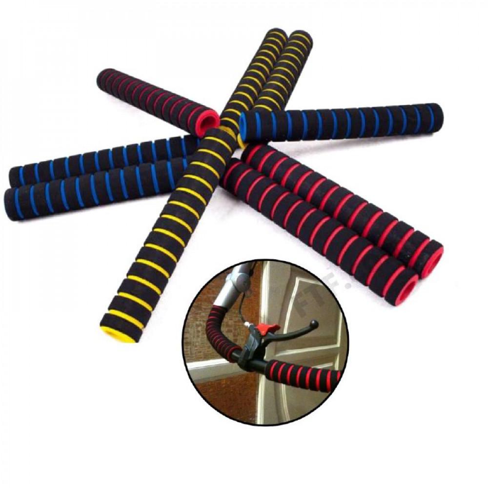 Гріпси поролонові довгі, накладки на ручки(4шт.), кольори