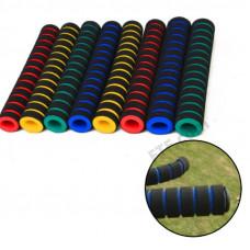 Гріпси поролонові довгі, накладки на ручки коляски (4шт.), кольори