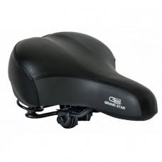 Сідло велосипедне, дорожнє Grand Star, посилене, чорне